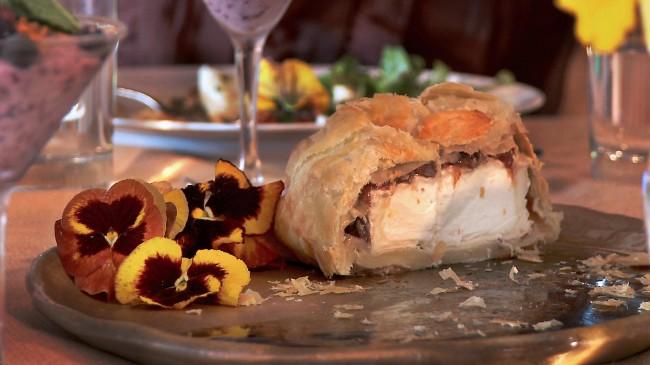 Chevre Camembert en Croute | Flavor, NC