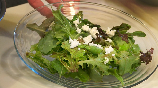 Spring Salad with Goat Cheese | Flavor, NC
