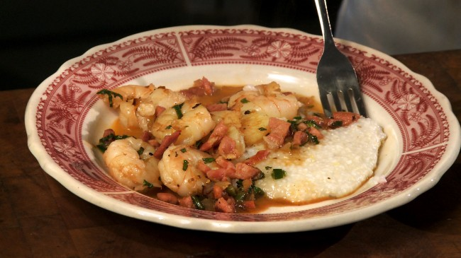 Shrimp & Grits with Redeye Gravy   Flavor, NC
