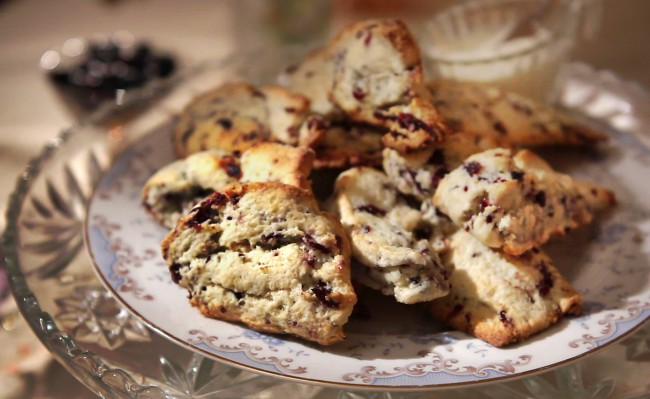 Blueberry Scones | Flavor, NC