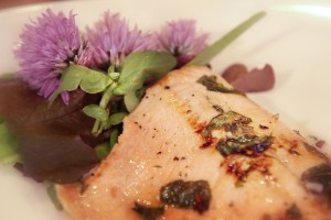 Lime Basil Grilled Trout Fillets