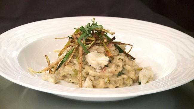 Crabmeat Risotto | Flavor, NC