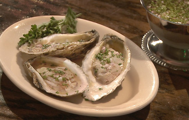 Oysters with Mignonette Sauce Recipe on Flavor, NC