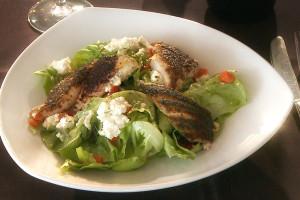 Blackened Catfish Salad