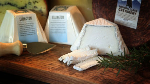 Looking Glass Creamery Cheese Display | Flavor, NC