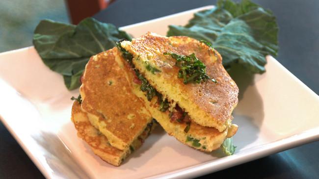 Fried Collard Sandwich | Flavor, NC