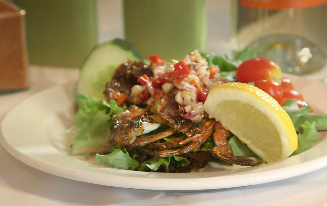 Grilled Soft Shell Crabs | Flavor, NC