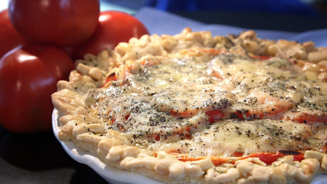 Tomato Pie | Flavor, NC