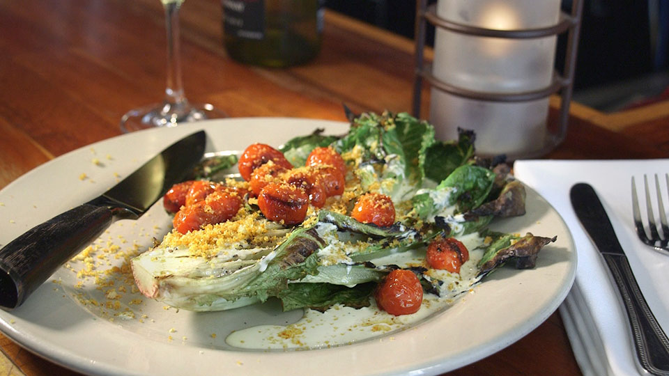 Grilled Romaine Salad | Flavor, NC