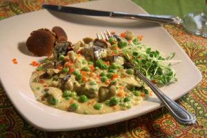 Black Poplar Mushroom Ragout