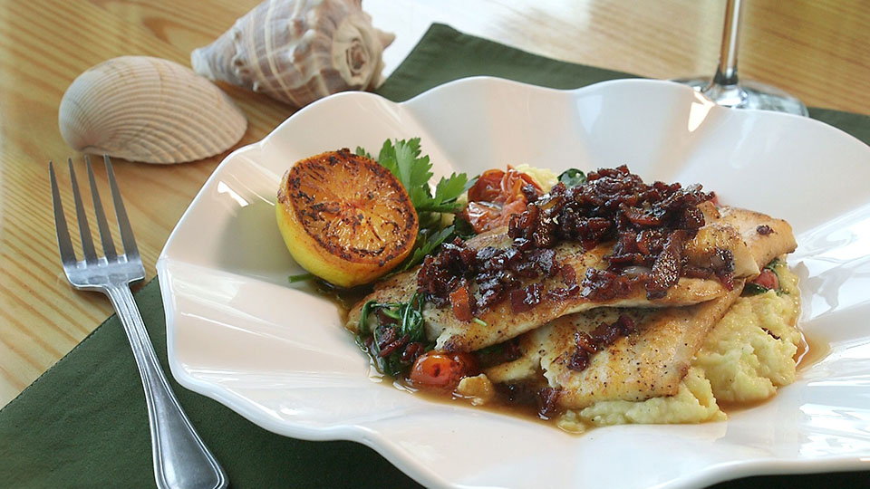 Pan Seared Spiny Dogfish | Flavor, NC