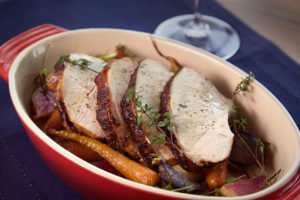 Rosemary Buttermilk Brined Turkey Breast