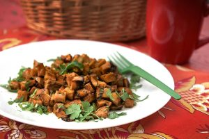 Sorghum-Balsamic Sweet Potatoes