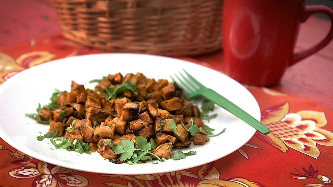 Sorghum-Balsamic Sweet Potatoes | Flavor, NC