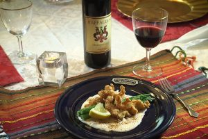 Crawfish Tails with Creole Mustard Sauce