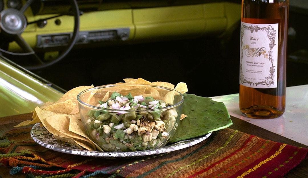 Flavor, NC | Cactus Corn Salsa