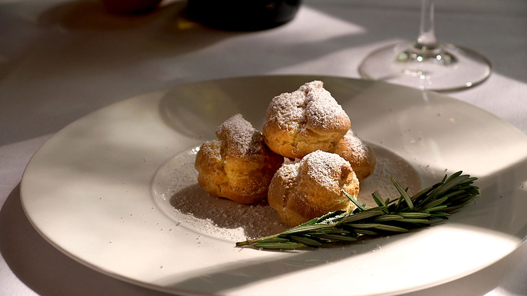 Flavor, NC | Muscadine Pastry Crème with Rosemary and Orange