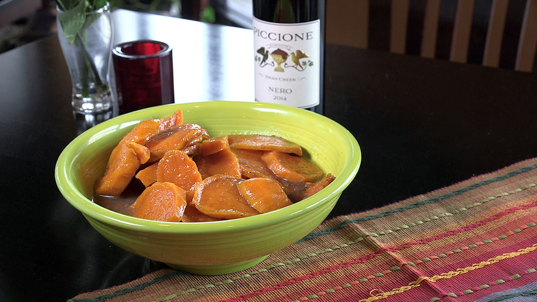 Flavor, NC | Candied Sweet Potatoes