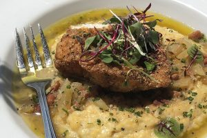 Cornmeal Crusted Grouper & Grits