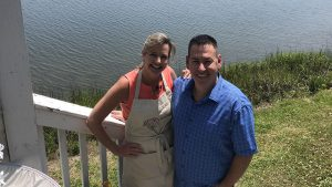 Flavor, NC | Lisa with Chef Bud Taylor