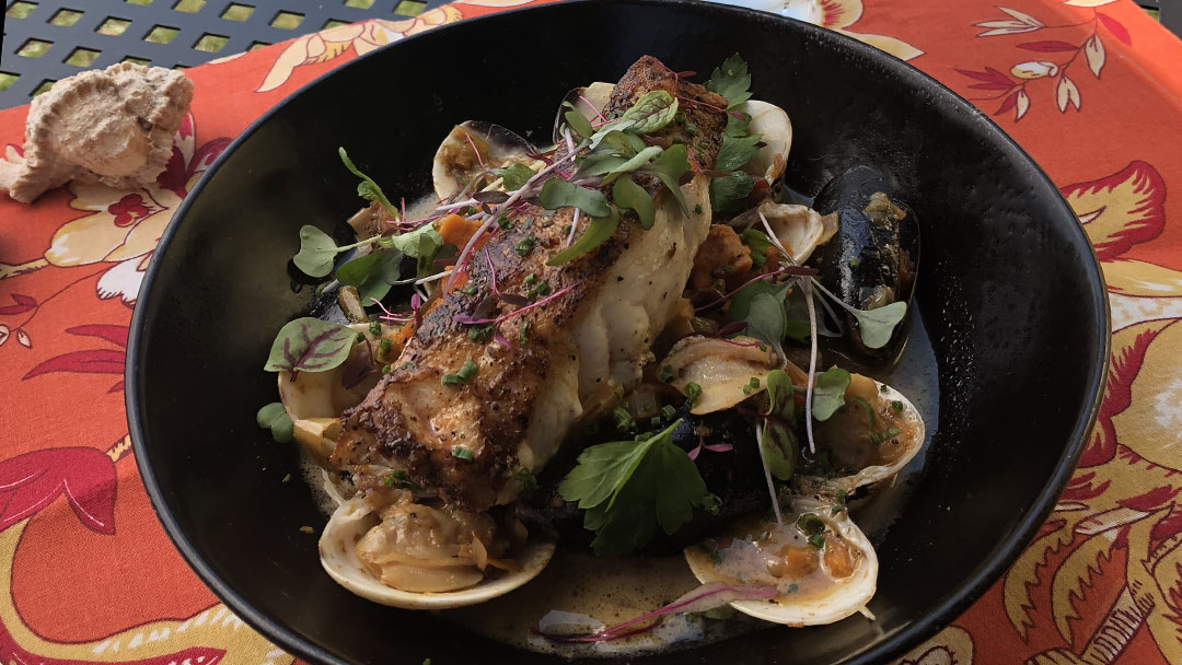 Flavor, NC | Pan Roasted Grouper