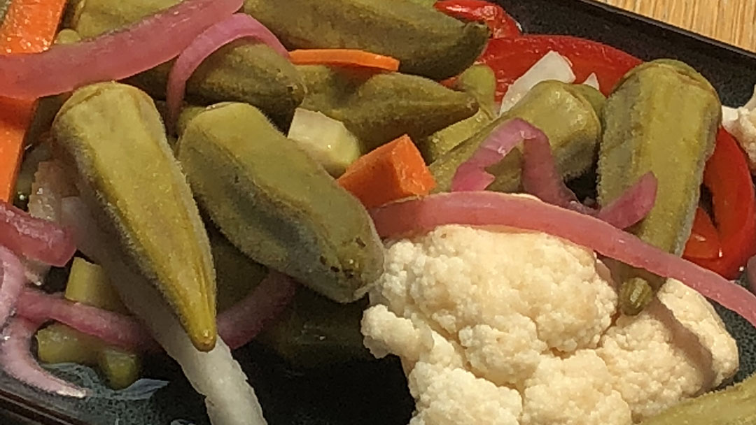 Flavor, NC | Pickled Okra